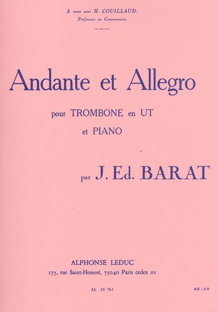 Andante et Allegro - Trombone et Piano