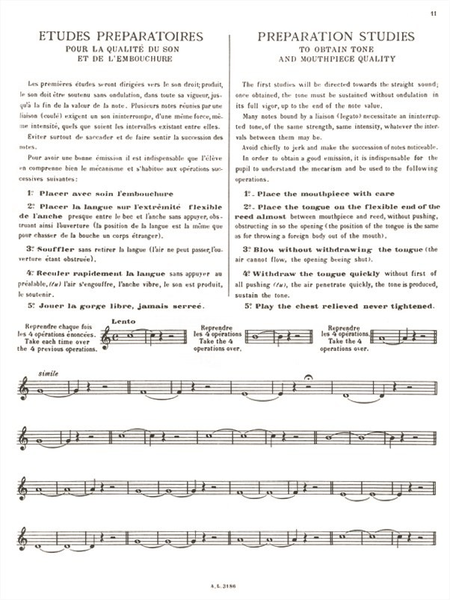 Methode De Saxophone - Complete (Francais-Anglais)