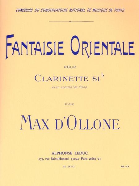 Fantaisie Orientale - Clarinette Sib et Piano