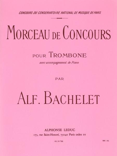 Morceau de Concours - Trombone et Piano