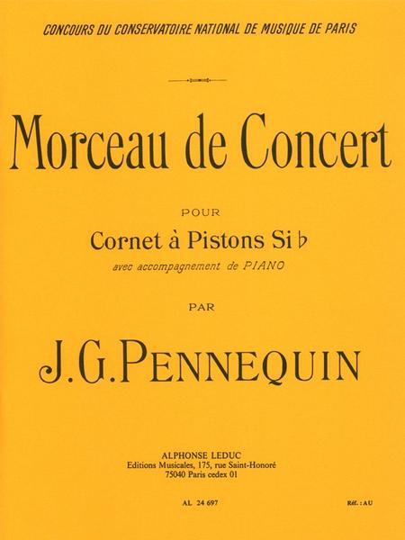 Morceau de Concert - Cornet Sib et Piano