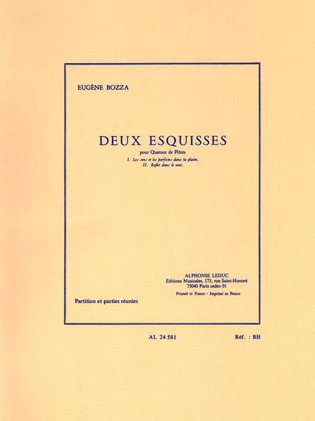 2 Esquisses - Quatuor Flutes