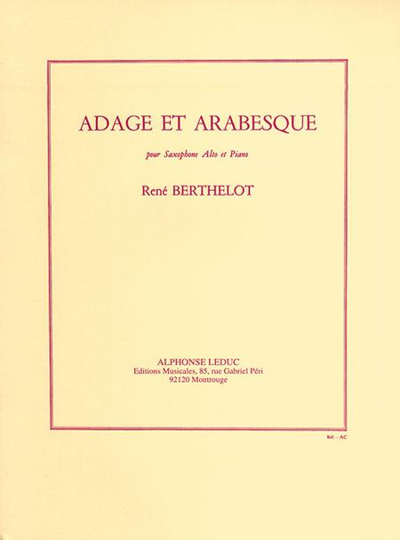 Adage et Arabesque - Saxophone Mib et Piano