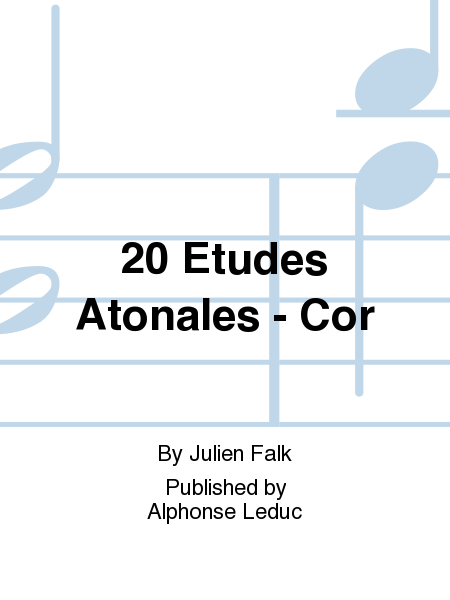 20 Etudes Atonales - Cor
