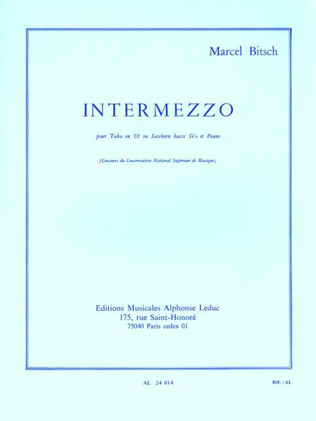 Intermezzo - Tuba Ut ou Saxhorn Basse Sib et Piano