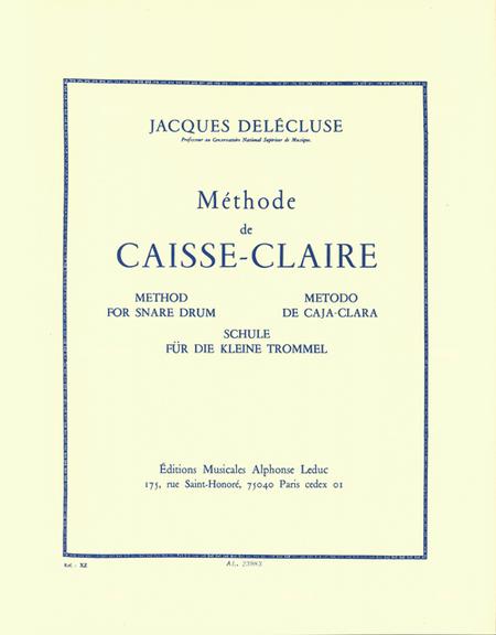 Methode de Caisse-Claire