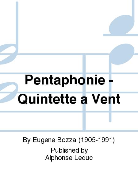 Pentaphonie - Quintette a Vent
