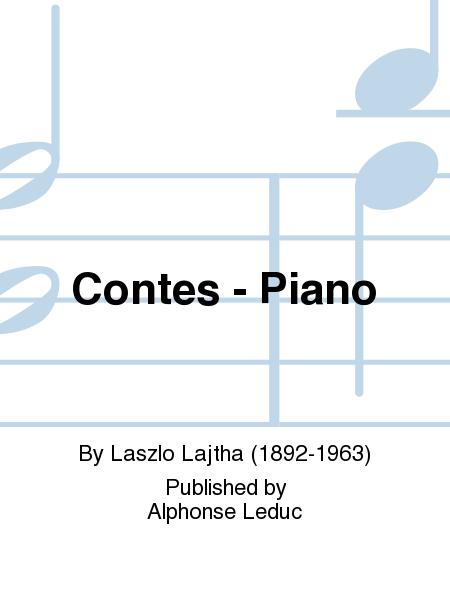 Contes - Piano