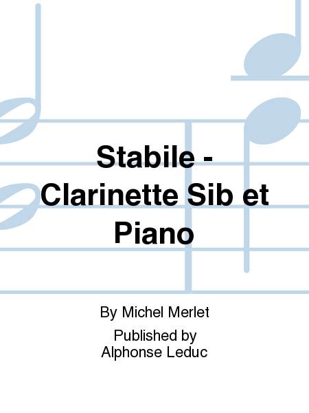 Stabile - Clarinette Sib et Piano