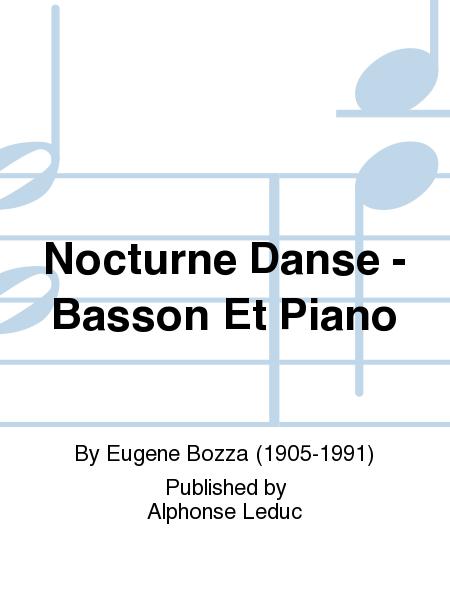Nocturne Danse - Basson Et Piano