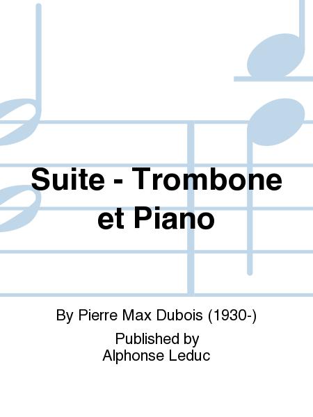 Suite - Trombone et Piano