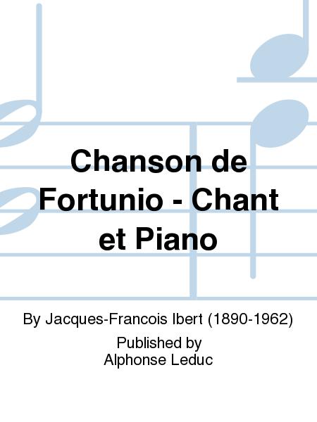 Chanson de Fortunio - Chant et Piano
