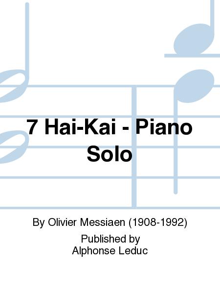 7 Hai-Kai - Piano Solo