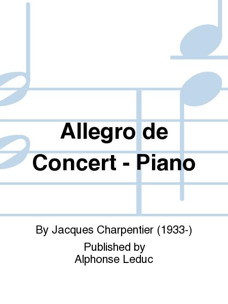 Allegro de Concert - Piano