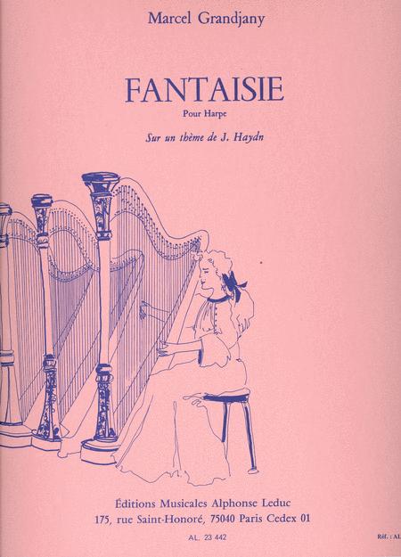 Fantaisie Sur Un Theme De Haydn Harpe
