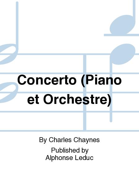 Concerto (Piano et Orchestre)