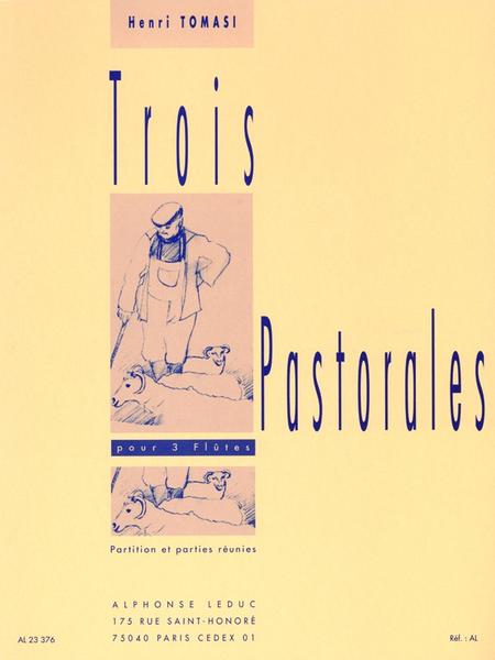 3 Pastorales - 3 Flutes