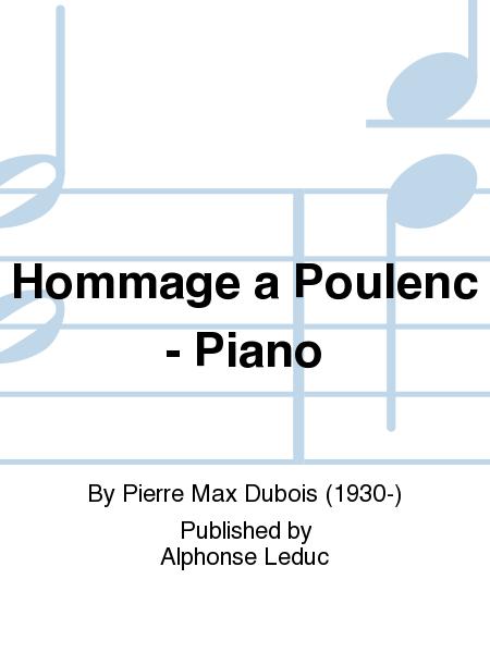 Hommage a Poulenc - Piano