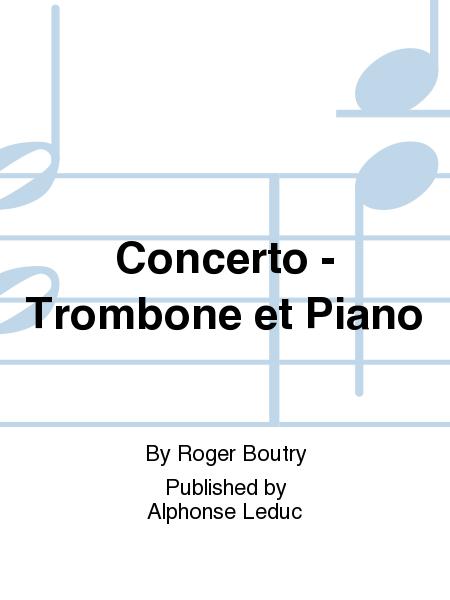 Concerto - Trombone et Piano