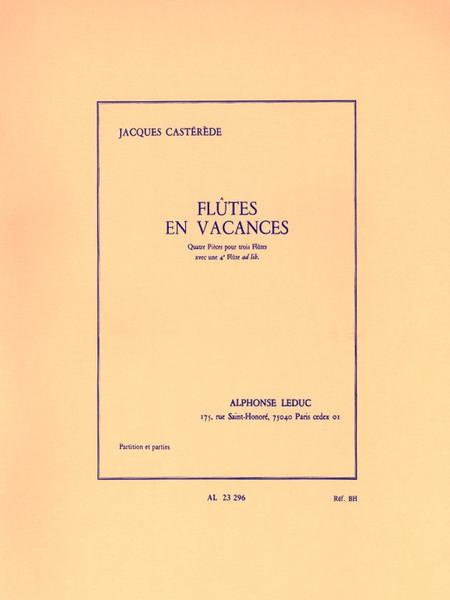 Flutes en Vacances - 3 ou 4 Flutes