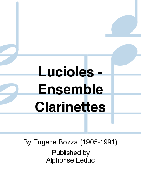 Lucioles - Ensemble Clarinettes