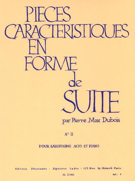 Pieces Caracteristiques En Forme De Suite No.2:A La Russe Saxophone Mib Et Pno