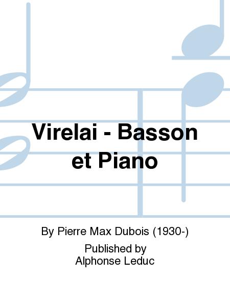 Virelai - Basson et Piano