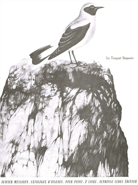 Catalogue D'Oiseaux Volume 2 - 4:Le Traquet Stapazin Piano