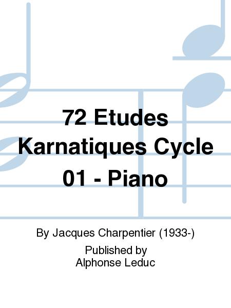 72 Etudes Karnatiques Cycle 01 - Piano