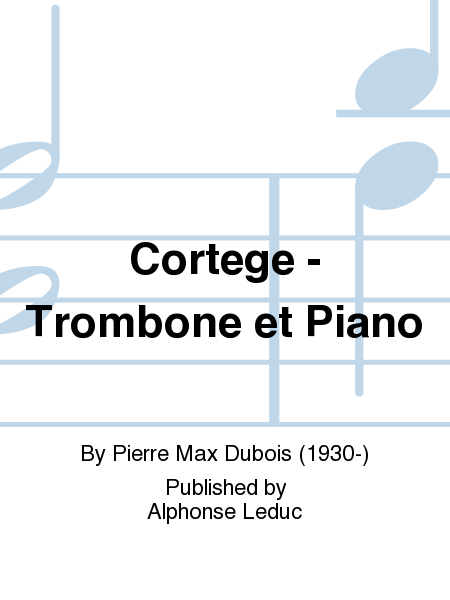 Cortege - Trombone et Piano