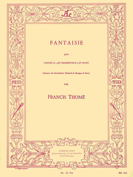 Fantaisie - Cornet Sib ou Trompette Sib et Piano