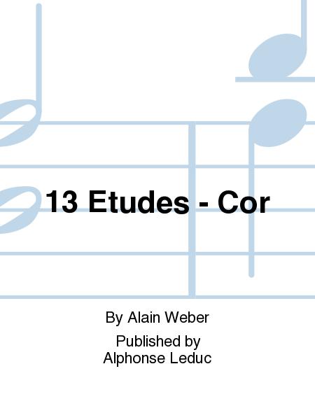 13 Etudes - Cor