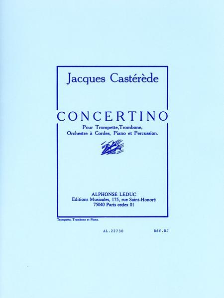 Concertino (Trp/Tbe/Cordes/Pno/Percu) Trp/Tbe et Piano