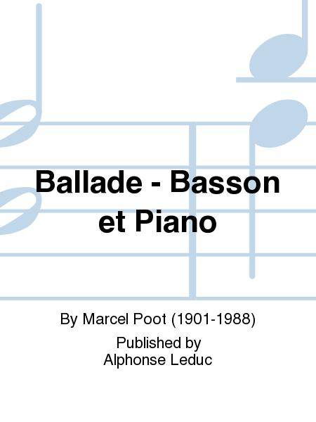Ballade - Basson et Piano