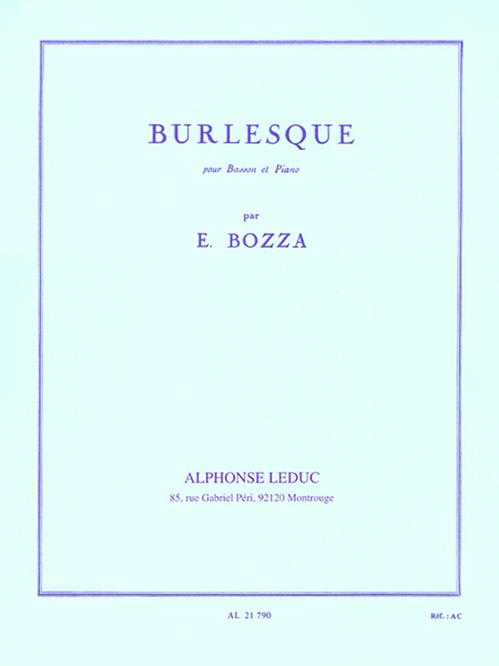 Burlesque - Basson et Piano