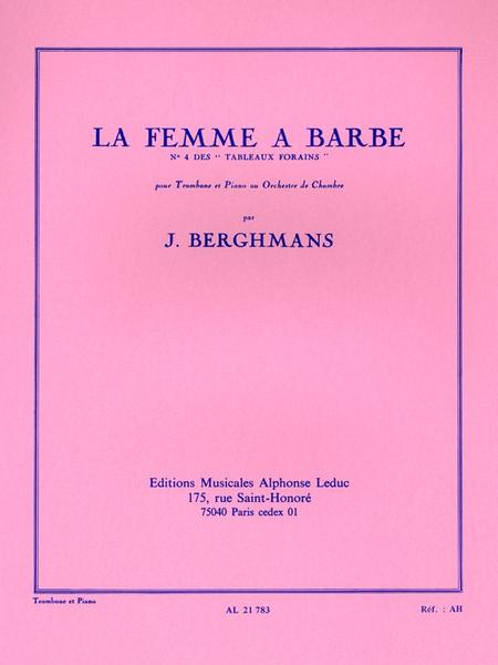 Tableaux Forains No.4: La Femme a Barbe Trombone et Piano