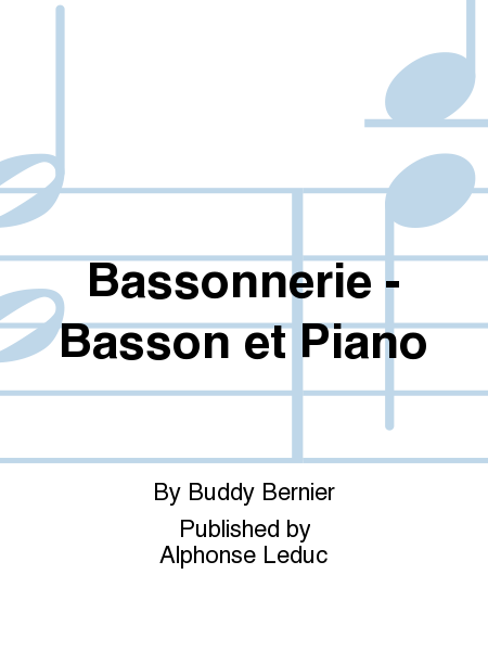 Bassonnerie - Basson et Piano