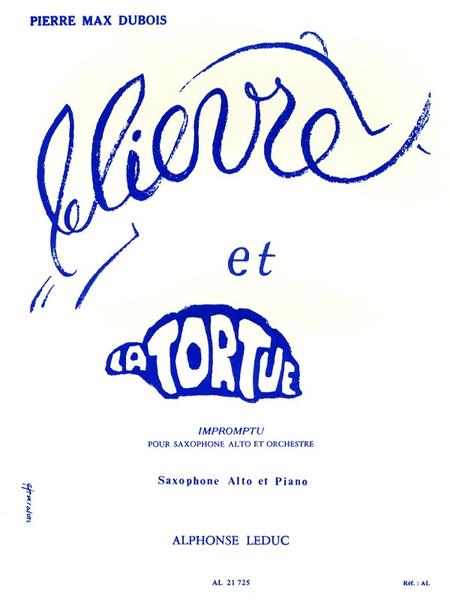 Lievre et La Tortue - Saxophone Mib et Piano