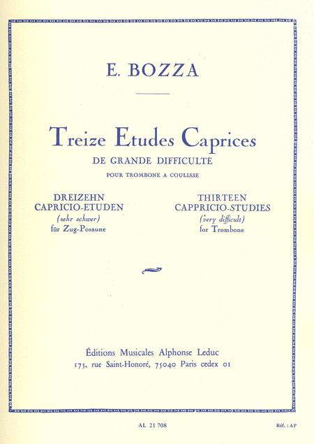 13 Caprices-Etudes - Trombone