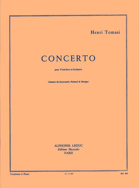 Concerto(Trombone Orchestre) - Trombone et Piano