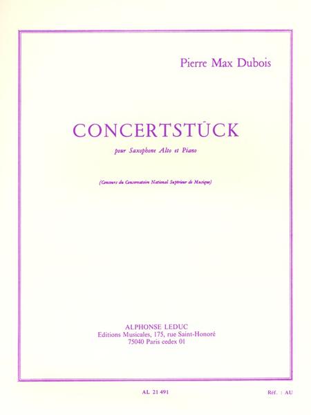 Concertstuck - Saxophone Mib et Piano