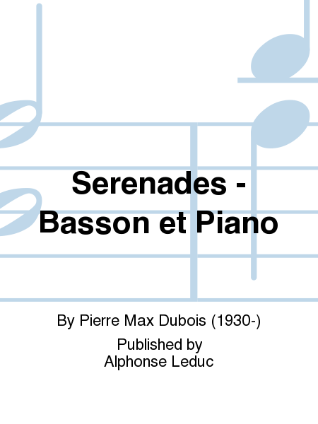Serenades - Basson et Piano