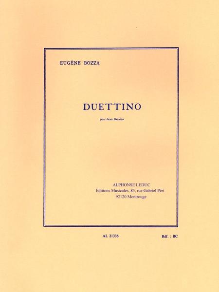 Duettino - 2 Bassons
