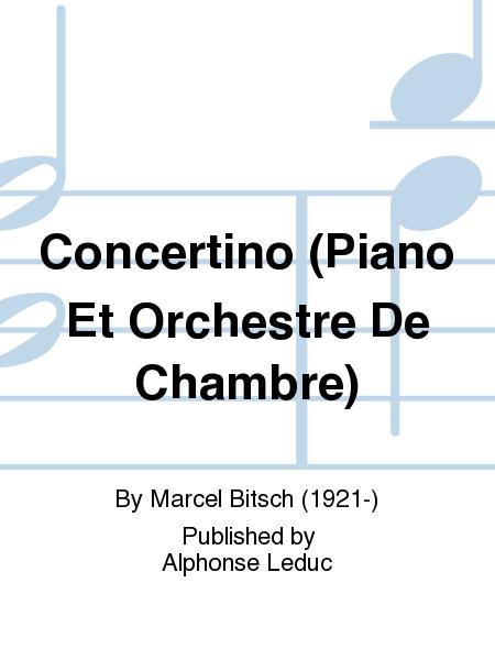 Concertino piano et orchestre de chambre sheet music by for Chamber l orchestre de chambre noir