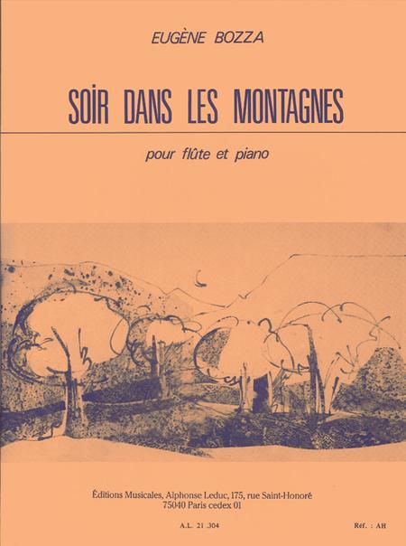 Soir Dans Les Montagnes - Flute et Piano