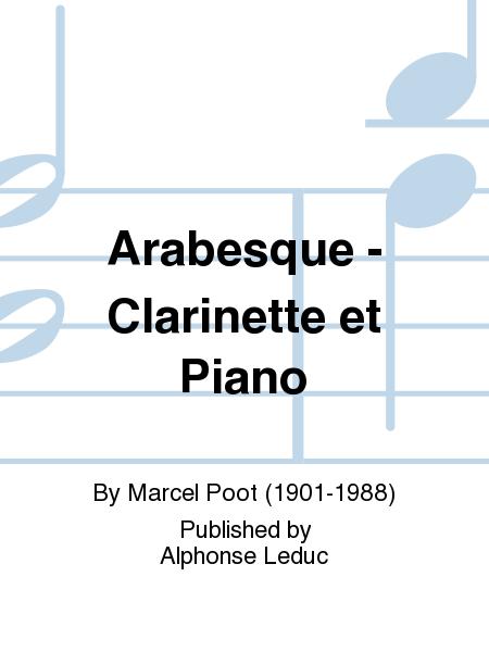 Arabesque - Clarinette et Piano