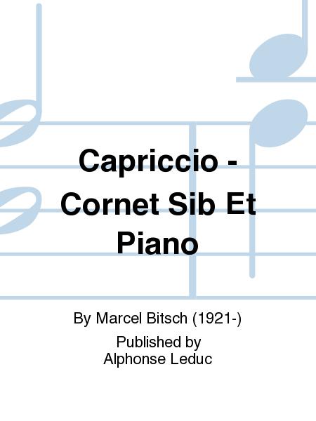Capriccio - Cornet Sib Et Piano