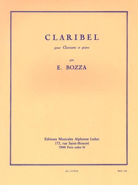 Claribel - Clarinette Sib et Piano