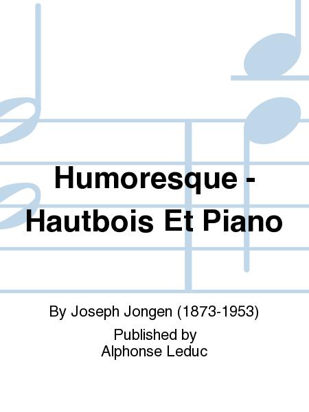Humoresque - Hautbois Et Piano