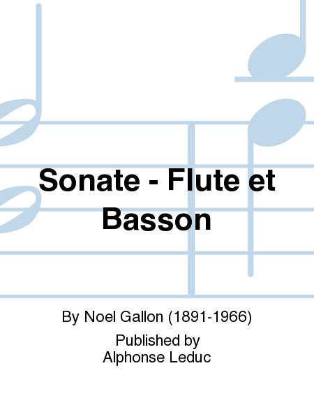 Sonate - Flute et Basson
